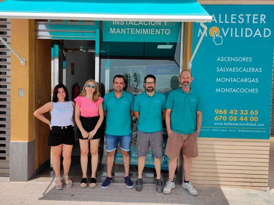 colaboración con Ballester Movilidad