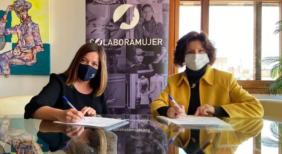 Acuerdo de colaboración entre Tekams y Colabora Mujer